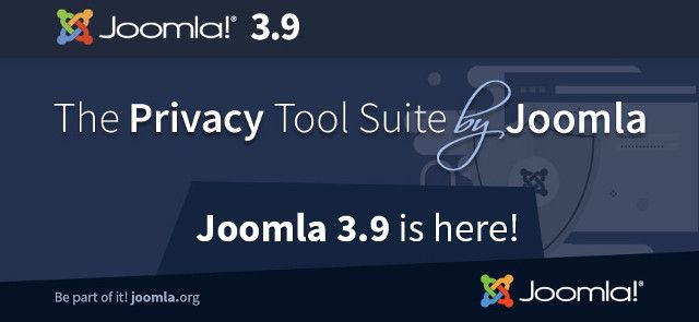 Joomla 3.9 - la versione di Privacy Tool Suite!