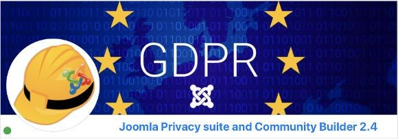 Ulteriori informazioni su Joomla Privacy Suite e Community Builder